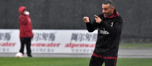 Alessandro Lupi, allenatore del Milan U19.