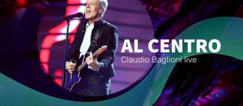 Baglioni al centro live il 15 settembre su Rai 1 | Scaletta |
