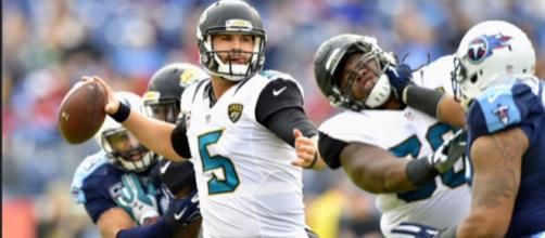 Blake Bortles had his way with the Patriots defense in Week 2. [Image Source: Flickr | Richard Pinelli]