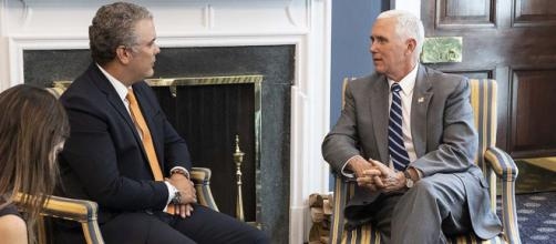 Pence y Duque hablan sobre la crisis en Venezuela