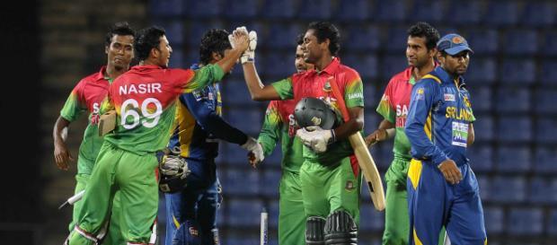 Bangladesh vs Sri Lanka live Cricket on Gazi Tv and Star Sports (Image via BCBTigers/Twitter)