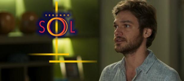Beto Falcão ficará em choque com revelação de que teve um filho. (foto reprodução).
