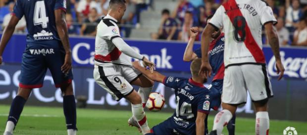 Huesca perdió el partido ante Rayo Vallecano. - infobiwenger.com