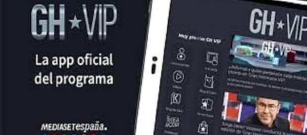 La aplicación oficial de GH VIP