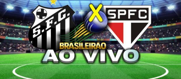 Santos e São Paulo jogam neste domingo pela 25ª rodada do Brasileirão 2018. (foto reprodução).