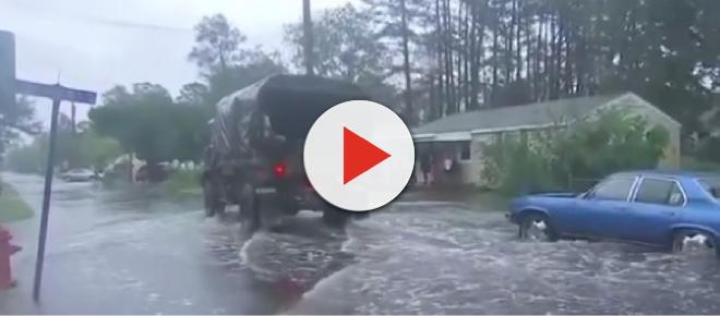 Hurricane Florence downgraded to a tropical storm with flash floods predicted