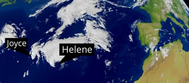 Tropical Storm Helene heads for UK, Florence batters US & Super-Typhoon aims for Hong Kong