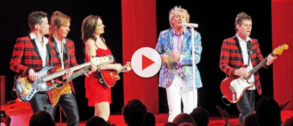 Rod Stewart launches Blood Red Roses album at exclusive London event