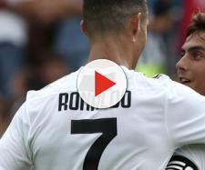 Cristiano marcó ante el Sassuolo su primer doblete
