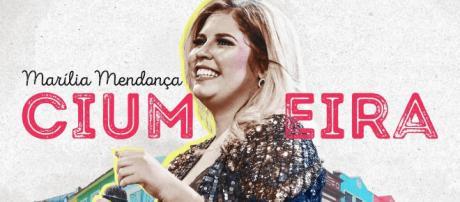 Marília Mendonça e seu mais novo sucesso. (foto reprodução).