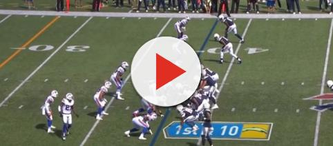 The Bills playing against the Chargers. - [NFL / YouTube screencap]