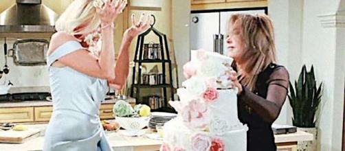 Beautiful, puntate americane: rissa tra Brooke Logan e Taylor Hayes.