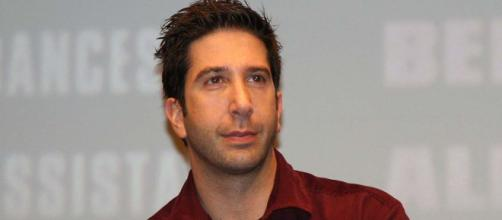 """Friends"" star David Schwimmer joins the cast of ""Will & Grace"" in Season 2 as Grace's new love interest. [Image toothgap/Wikimedia]"