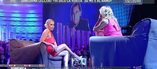 Loredana Lecciso ospite di Domenica Live
