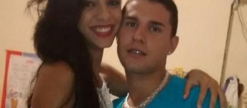 Maycon Salustiano Silva e la moglie