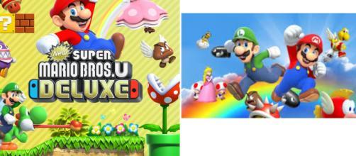 nEW Super Mario Bros Delux sur Switch