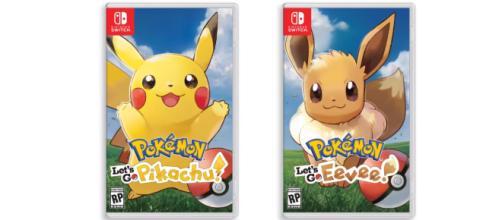 On connait la liste des Pokémon exclusifs à chaque jeu Let's Go