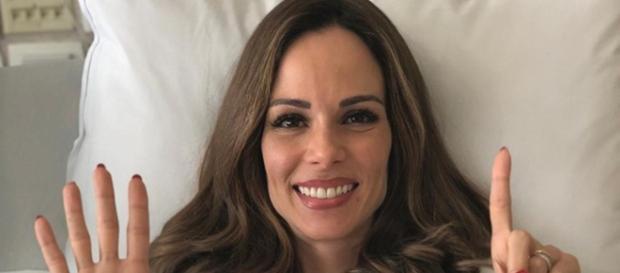 Ana Furtado, apresentadora da Rede Globo.