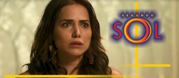 Ao descobrir que se envolveu em um crime, Rosa ficará em pânico. (foto reprodução)