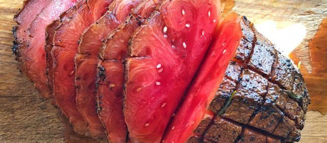 Arriva da New York il prosciutto d'anguria ed è subito moda