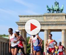 Galáctico record del mundo en la maratón de Berlín