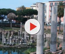 Macellum di Pozzuoli, provincia di Napoli: la zona è stata colpita da un terremoto il 18 settembre