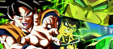 CG department of the films drops hint for a Goku and Broly clash. [image credit: Gamespot Universe Trailers/ YouTube screenshot]