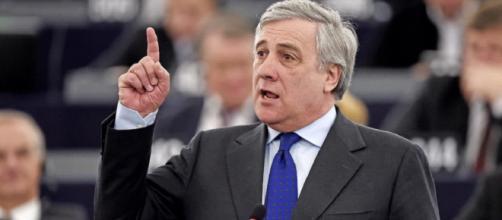 Antonio Tajani, presidente dell'Europarlamento e vice presidente di Forza Italia