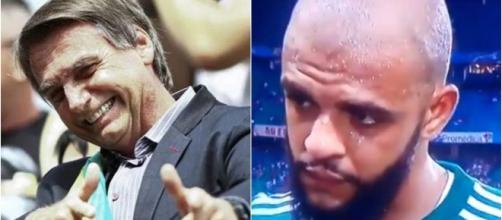 Felipe Melo mandou recado para Bolsonaro