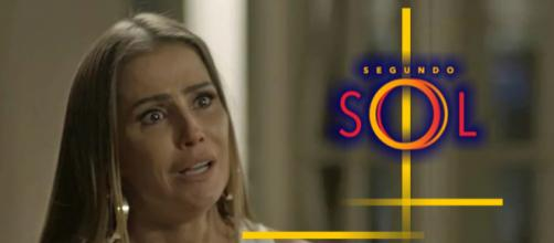 Karola é a maior mentirosa na novela Segundo Sol