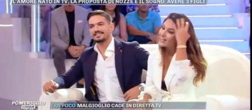 Pietro Tartaglione e Rosa Perrotta hanno annunciato la data delle nozze a Pomeriggio 5