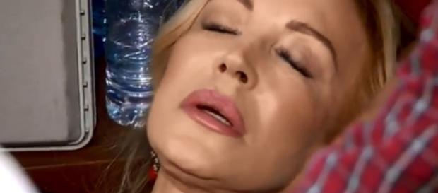Carmen Lomana se desmaya en la prueba de eliminación - bekia.es