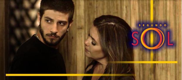 Ícaro abandona Laureta mais uma vez e ela promete vingança (foto reprodução).