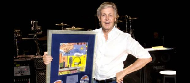 """Paul McCartney has hit the No. 1 spot on the Billboard 200 charts in the US with his new album """"Egypt Station."""" [Image @PaulMcCartney/Twitter]"""