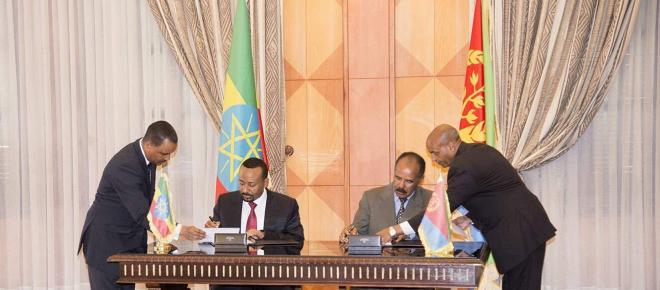 Eritrea y Etiopía ratifican un acuerdo de paz histórico