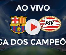 Barcelona x PSV ao vivo pela Liga dos Campeões