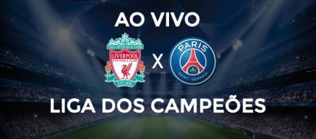 Liverpool x PSG ao vivo: transmissão