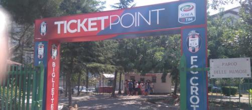 Il Ticket Point del Crotone Calcio