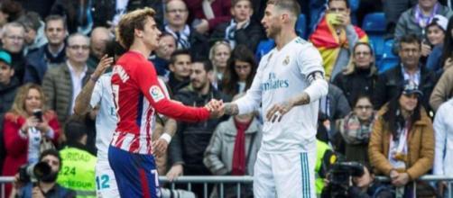 Sergio Ramos n'accepte pas que Griezmann puisse penser être l'égal de Ronaldo et Messi