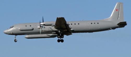 Un Ilyhusyn 20, IL-20, de versión similar al abatido