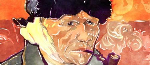 Van Gogh's self-portrait with bandaged ear Image source: Public domain.