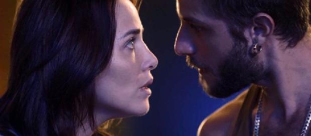 Após contar todos os podres de Laureta, Ícaro ficará revoltado com a ex-namorada. (Reprodução/TV Globo)