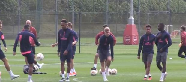 Arsenal seek the glory at the Europa League - Image credit - HaytersTV | YouTube