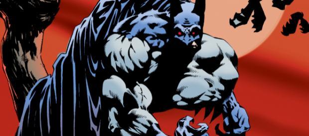 Capa de Batman: Vampire, da DC Comics