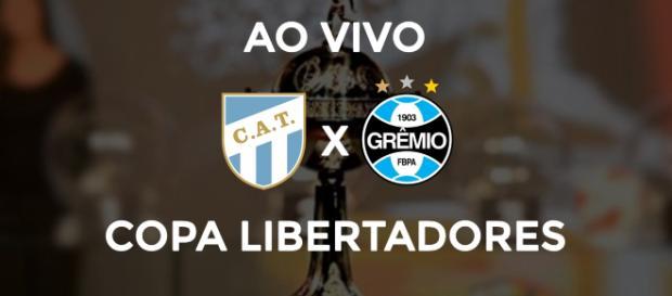 Libertadores: Tucuman x Grêmio ao vivo