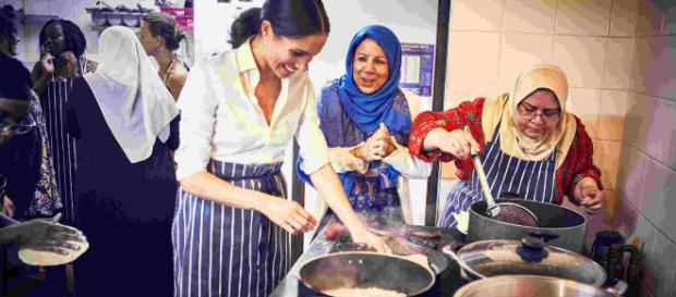 Meghan Markle colabora en libro de cocina para las víctimas del incendio de la Torre Grenfell