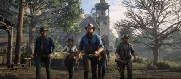 Rockstar Games announced the seven locations in 'Red Dead Redemption 2's' map [Image Credit: Rockstar Games/YouTube screencap]