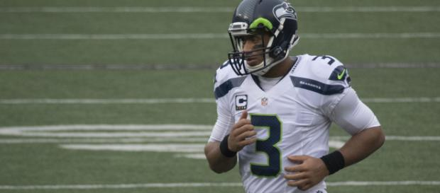 Seahawks QB Russell Wilson wants to play 25 years in NFL. [image source: Keith Allison - Flickr]