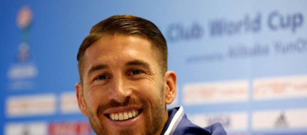 Sergio Ramos comparece en la rueda de prensa previa al Real Madrid- AS Roma
