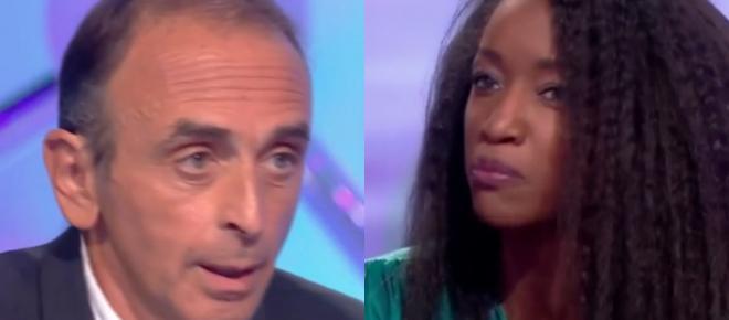 Clash : Hapsatou Sy attaquée par Eric Zemmour dans Salut les Terriens